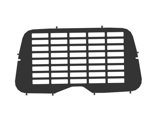 Hubb Window Blanks & Grilles (Rear & Side) for Ford Transit Crew 2014 onwards