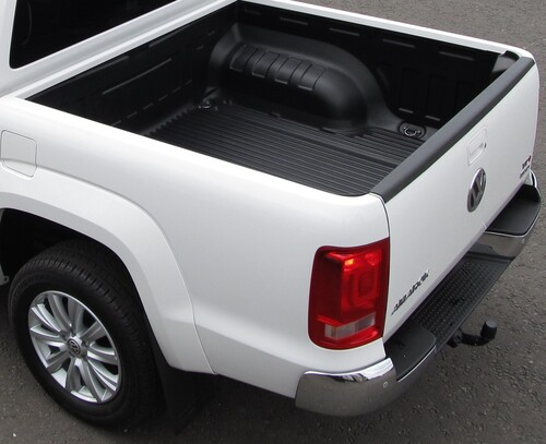 Heavy-duty Under Rail Load Liner Double Cab