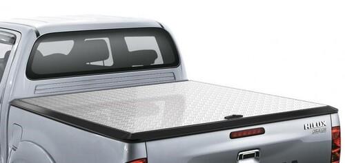 EGR Aluminium Tonneau Cover (Silver and Black)